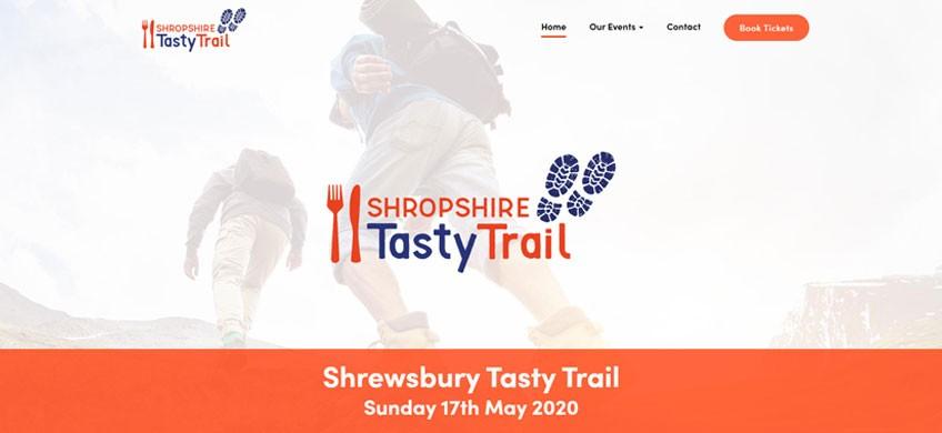 New Website Developed for Shropshire Tasty Trails Event