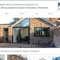 Six Ticks Refurbish Website for Shropshire Architects