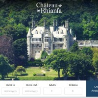 New Six Ticks Website for Luxury Hotel Chateau Rhianfa