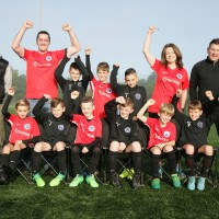 Six Ticks Sponsors Shrewsbury Junior Football Team