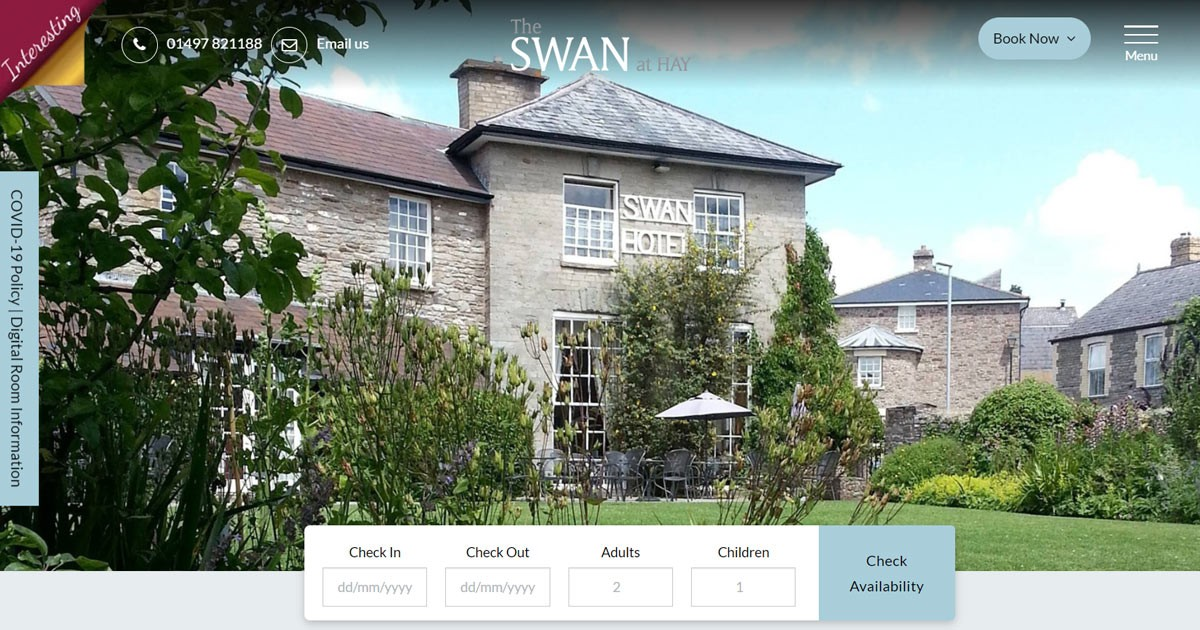 The Latest Unique & Stylish Website Launch for Interesting Hotels