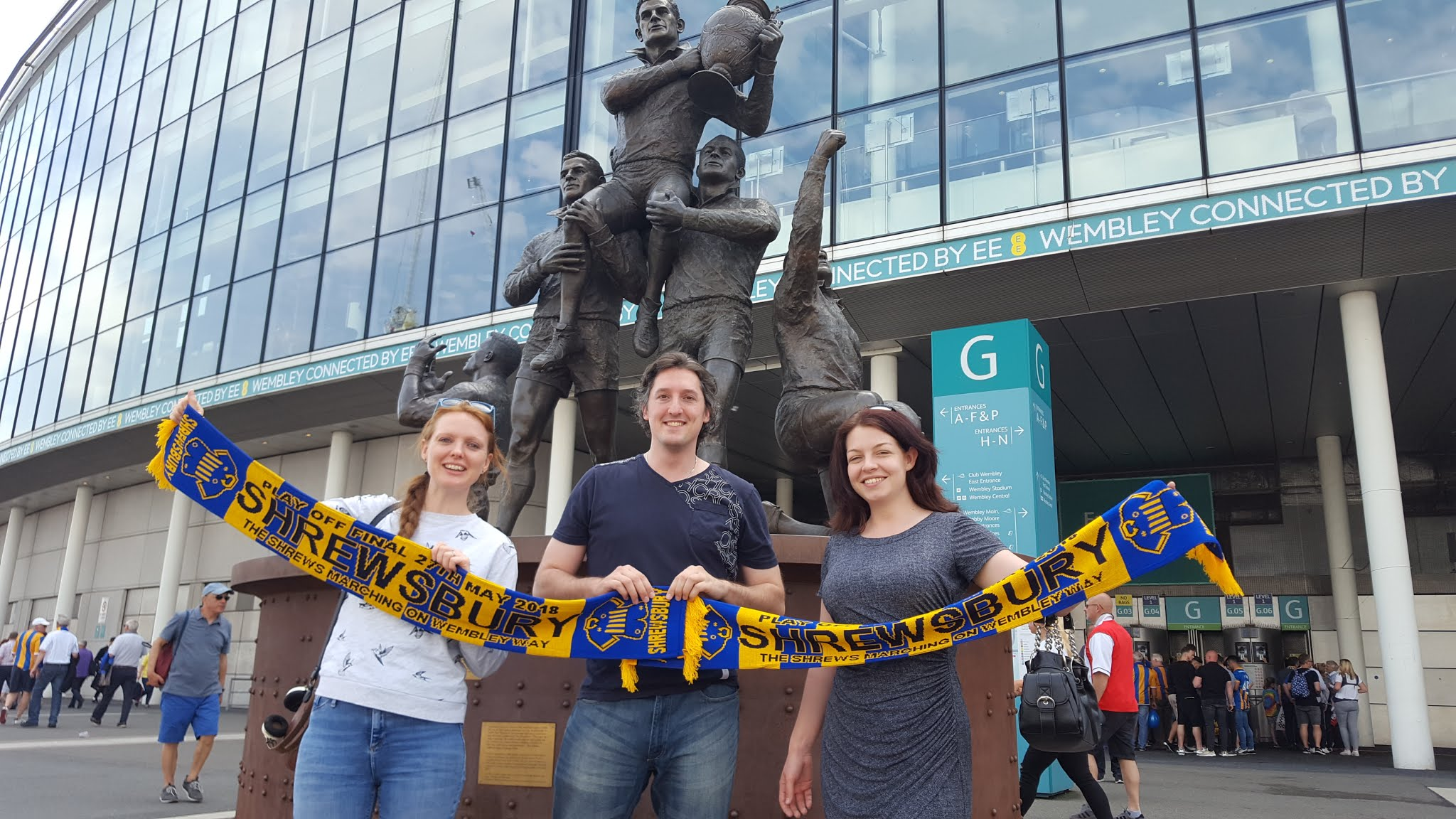 Web Developers Six Ticks Follow Shrewsbury Town FC to Wembley