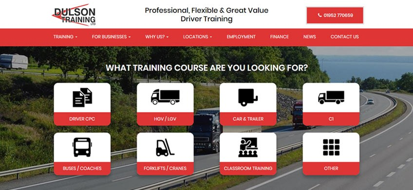 Six Ticks Learn About the Wonderful World of HGV Driving for our Latest Website