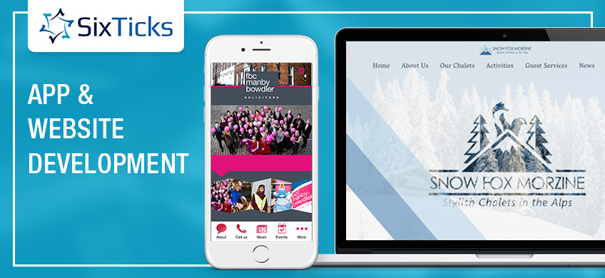 App and Website Development Shropshire