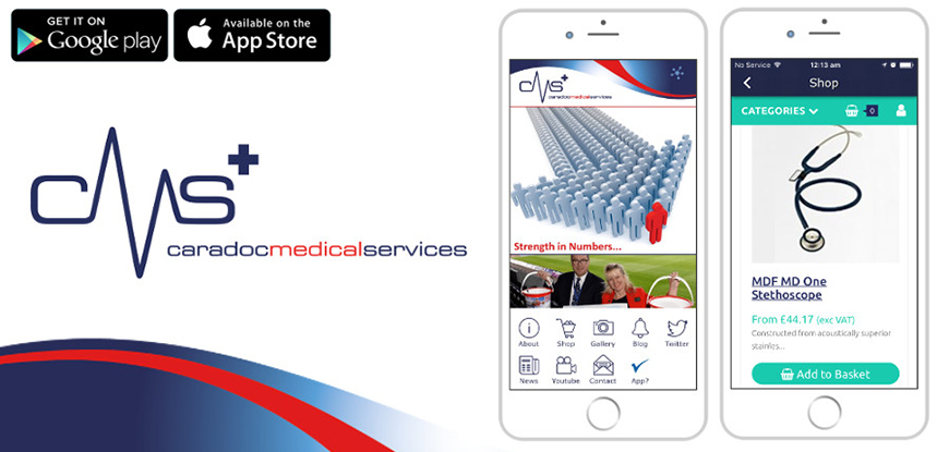 Caradoc Medical Services Mobile App