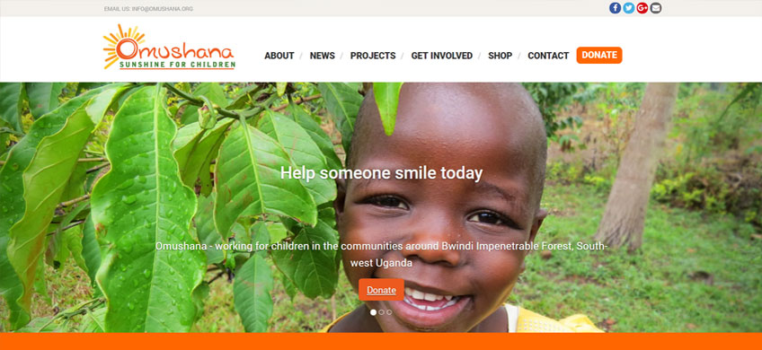 Web Design for Charities