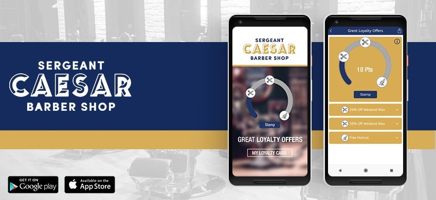 Men's hairdressers Sergeant Caesar launch new customer friendly mobile app