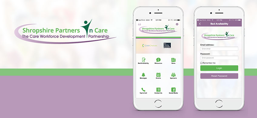 New Mobile App for Shropshire Partners In Care