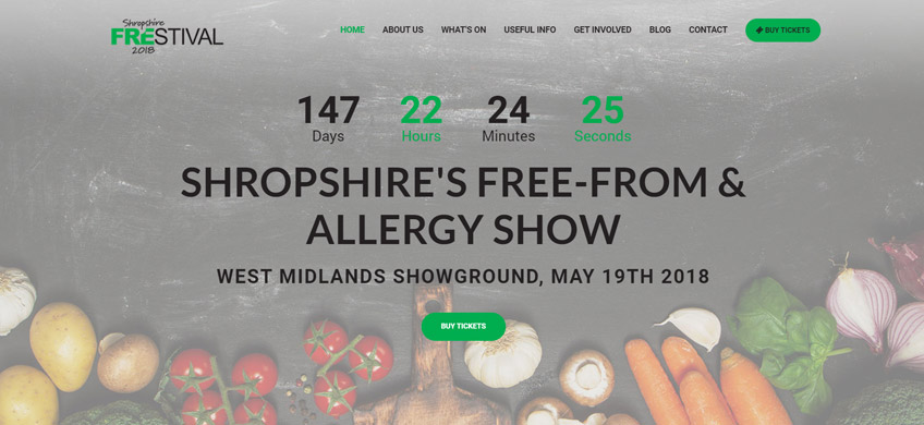 New website for Shropshire's 'Frestival'