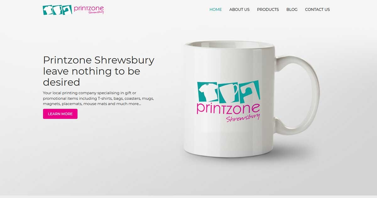 Shrewsbury Print Professionals celebrate Website launch!