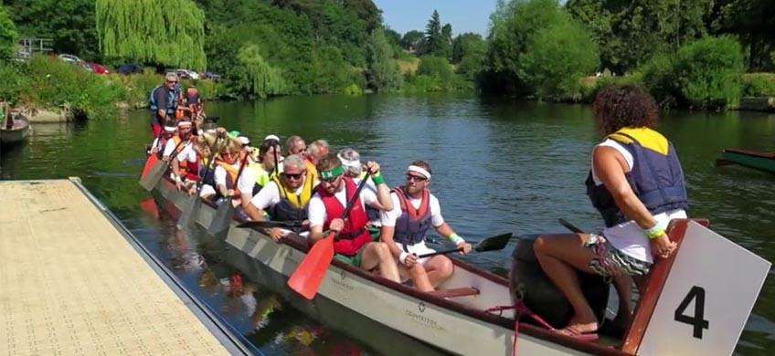 Severn Hospice Dragon Boat Race 2018