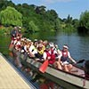 Six Ticks' at the 2018 Severn Hospice Dragon Boat Race