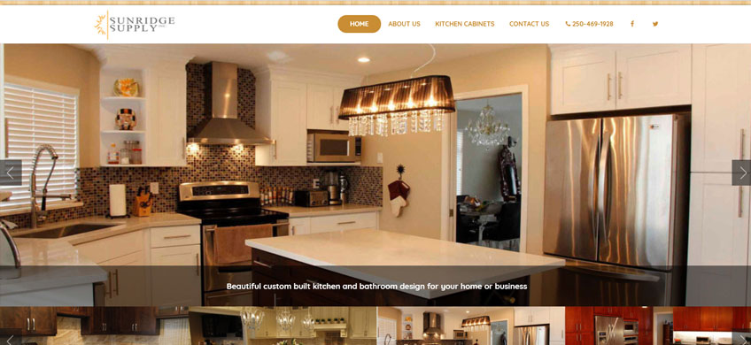 Six Ticks Develop New Website for Canadian Cabinet Makers
