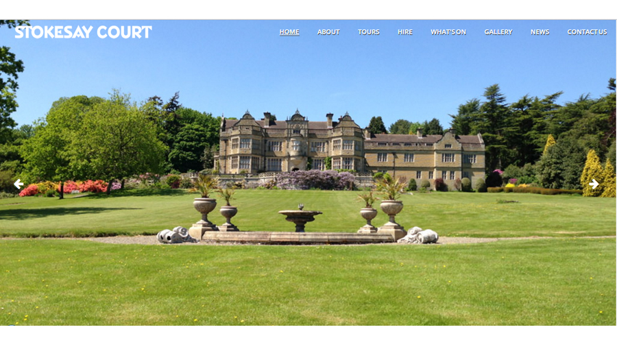New Website for Iconic Atonement House, Stokesay Court