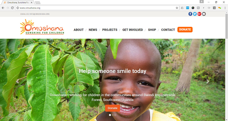 Sunshine and Smiles as Six Ticks Launch New Charity Website