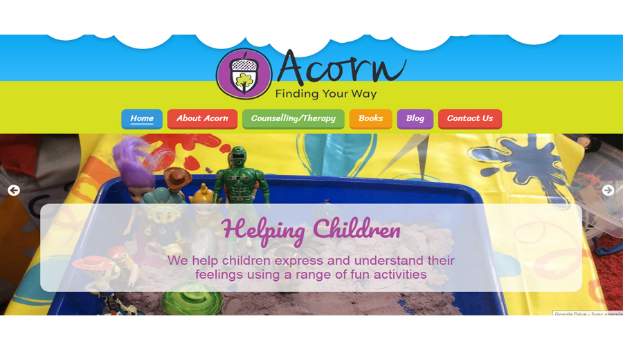 Acorn's Colourful New Website Springs to Life!