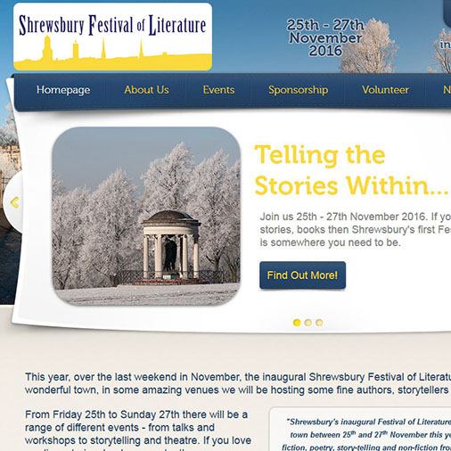 The Shrewsbury Festival of Literature