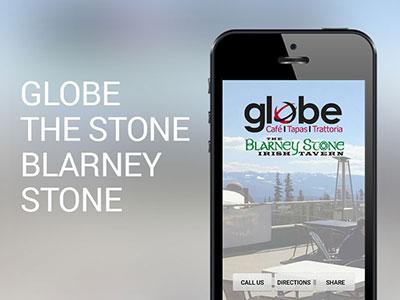 Globe and Blarney Stone