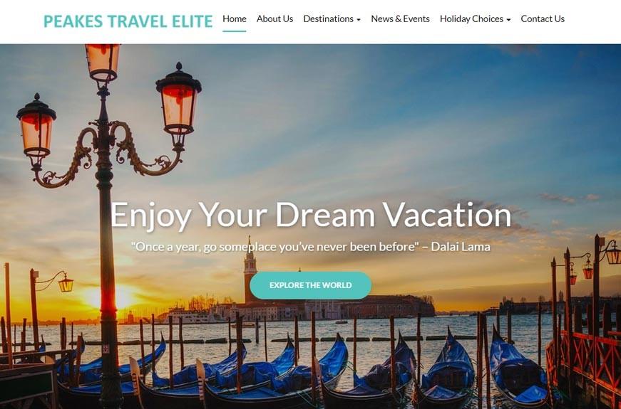 Peakes Travel Elite