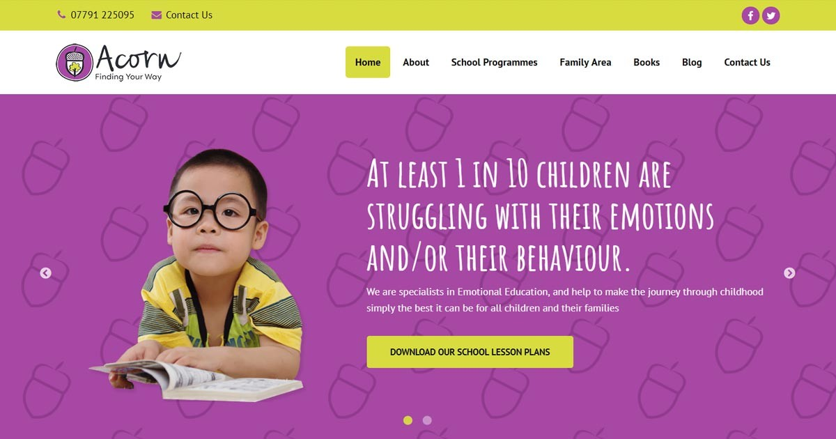 New Website for Emotional Education Experts